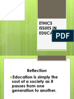 Plppip Ethical Issues in Education
