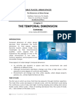 Temporal Dimension Summary Arnav