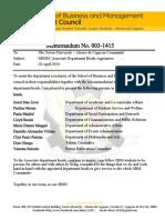 Memorandum 003 1415  Appointed Associate Department Heads