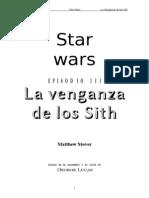 [20 ABY] - Matthew Stover - Star Wars - Episodio III - La Venganza de Los Sith