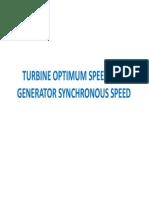 Microhydro Machine Speed