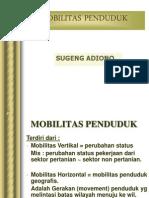 Mobilitas penduduk