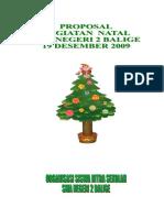 Proposal Natal SMAN 2 Balige Benar