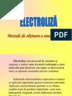 Electroliza - Metode de Obtinere a Nemetalelor