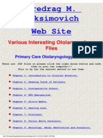Primary Care Otolaryngology Online