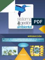 Exposicion de Sistema de Gestion Medioambiental