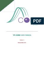 YP CORE User Manual