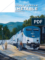 Amtrak System Timetable Winter Spring 2014