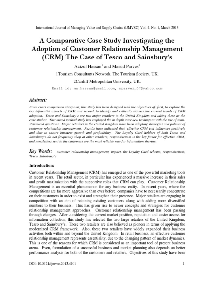key aspects of customer relationship management