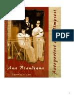 ANA BLANDIANA Autoportret Cu Palimpsest