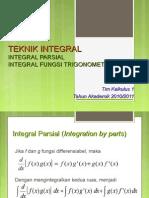 Pertemuan 2 Teknik Integrasi Bagian Power of Trigonometri 2