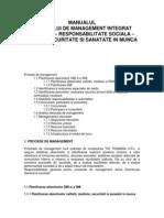 8. Manualul Sistemului de Management