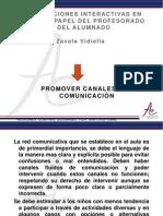 EXPOSICION Promover Canales de Comunicacion