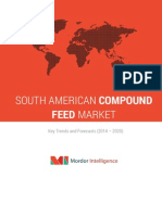 South American Compound Feed Market – by Ingredients, Supplements, Animal Type & Geography – Trends & Forecasts (2014-2020)