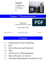 Thermochemistry (General Chem)
