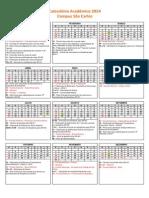 Calendar i Oscar Los 2014