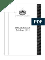 Tugasan Kerja Projek Matematik Tambahan 2014