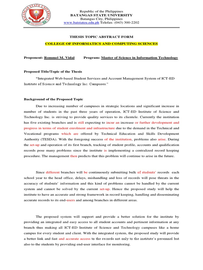 web based upon document management system thesis
