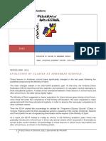 Annual CIS Report of Andorra