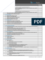 P2V Checklist