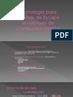 Expo Sistemas de Escape Final