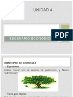 UNIDAD 4 Escenario Economico Bueno