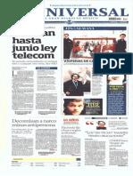 Gcpress-planas Principales de Medios Nacionales- Sab-26-Abr-2014