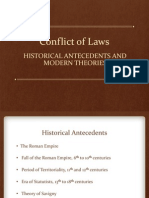 Conflict of Laws_History and Theories