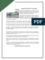Sismicidad Historica en Riobamba