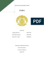ZARA Final Paper