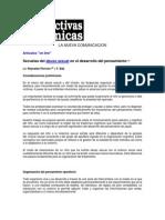 Secuelas Del Abuso Sexual en El Desarrollo Del Pensamiento, Reinaldo Perrone