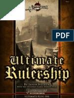 Ultimate Rulership (Full Color)