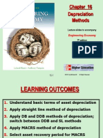 Depreciation Methods for Engineering Economy