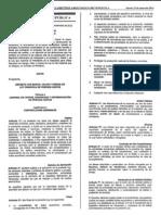 Ley Orgánica de Precios Justos - Venezuela 2014