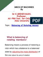 Dynamics of Machines1