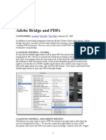 AdobeBridge and PDF