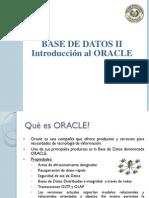 T1 - M2 - Introduccion Al Oracle
