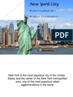 Atestat Engleza New York