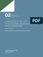 INFORME Diagnostico de Las Poblaciones de Inmigrantes en Argentina