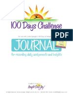 100 Days Journal