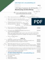 Data Warehousing & Data Mining Jan 2014
