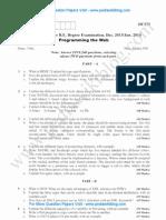 Programming the Web Jan 2014