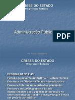 Adm Pública - Aula 4 Crises Do Estado (1)