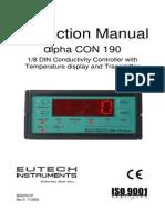 alphacon190_r0 Manual