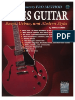 The 21st Century Pro Method - Blues Guitar Rural, Urban and...