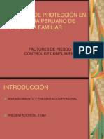 Medidas de Proteccion en El Sistema Peruano de Violencia Familiar