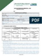 Instrucoes Preenchimento Formulario AUA Industrias