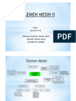 Elemen Mesin II