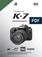 Canon K-7 Manual