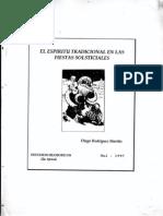 Rodriguez Mariño Diego - Espiritu de Las Fiestas Solsticiales